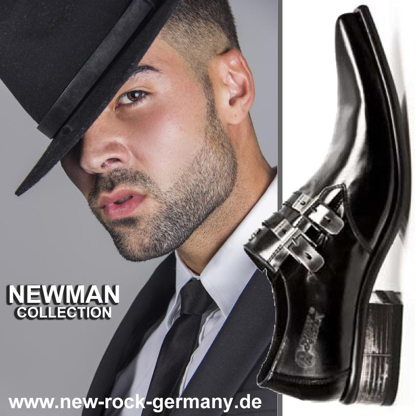 New Rock Leder Schuhe